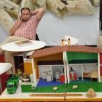 Model peletového vytápění rodinného domu