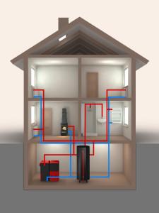 Propojení systémů v rodinném domě